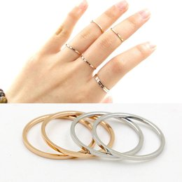 online shopping Simple style Top quality Inlaid one letter and smooth surface Design joint brand band Rings man and women Lady Finger Ring Hot sale PS5473