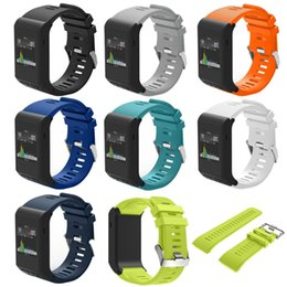 Discount garmin sports - Wholesale- High Quality Sports Safety Silicone Replaceable Wrist Band Straps for Garmin Vivoactive HR Wristband Bracelet