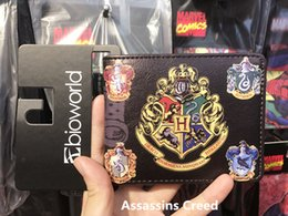 Fresh Movies Canada - Hot Anime Purse Wallet Movies Harry Potter Printed Leather Dollar Bags Gift Teenager Boy Girl Leather Short Wallets