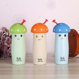 $enCountryForm.capitalKeyWord Canada - Winter Mushroom Hot Water Cup Stainless Steel Water Bottle Water Bottle Vacuum Bottle Student Insulation Cup