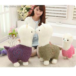 $enCountryForm.capitalKeyWord Canada - 40CM Alpaca Plush Doll Toy Fabric Sheep Stuffed Animal Plush Llama Yamma Birthday New Year Christmas Gift For Baby Kid Children