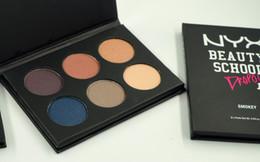$enCountryForm.capitalKeyWord NZ - new NYX Cosmetic NYX BEAUTY SCHOOL Eyeshadow Palette Matte Eye Shadow Mini style NUDE SMOKEY 6 Color Eye Shadow