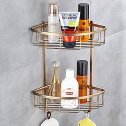 antique brass makeup organizer bathroom shelf bathroom accessories corner shelf stand discount bathroom accessories stand