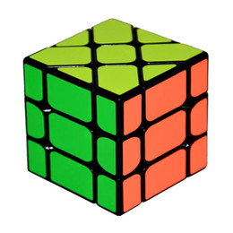 kids toy cube UK - New Arrival YongJun YJ Speed 3X3X3 Fisher Cube Magic Cubes Speed Puzzle Learning Educational Toys For Children Kids cubo magico