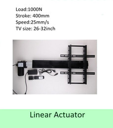 $enCountryForm.capitalKeyWord Canada - free shipping 400mm stroke 26''-32''TV usage wireless tv lift linear actuator can used for cabinet and bed
