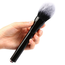 kabuki makeup tools 2018 - Wholesale-1PC New Fashion Beauty Kabuki Makeup Cosmetic Face Powder Foundation Blush Brush Tools discount kabuki makeup