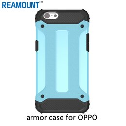 oppo transparent phone UK - 2 in 1 Armor Hard PC + Soft TPU Dual Layer Shockproof Mobile Phone Case for OPPO A31 A33 A37 A39 Mobile Phone Case