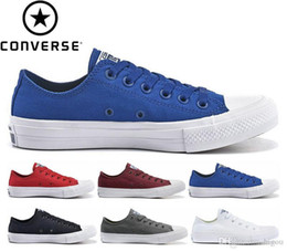 579277945be4 Original Converse Chuck Tay Lor All Star II 2 Shoes For Men Women Casual  Sneakers Running Low Top Classic Skateboarding Canvas Free Shipping