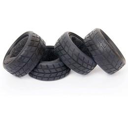 Electric Road Cars UK - HSP Tires 02116 Diamond Tread On-Road Racing Car Insert Sponge Tyre 4P