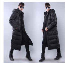 Discount Men Hooded Knee Long Jacket | 2017 Men Hooded Knee Long ...