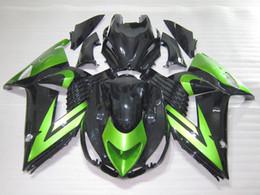 $enCountryForm.capitalKeyWord Canada - Injection molding free 7 gifts fairing kit for Kawasaki Ninja ZX14R 06 07 08-11 green black fairings set ZX14R 2006-2011 OT15