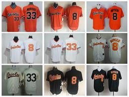 6e2c0ebaf49 ... cheap 33 eddie murray jerseys baltimore orioles baseball jerseys  throwback 8 cal ripken . ...