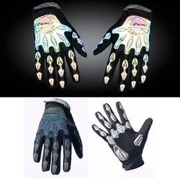 Wholesale New Style Night Reflective Refers To The Riding Gloves Bike Movement Men s Machinery Refers To The Gloves