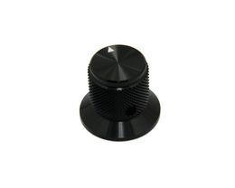 Potentiometer Switch UK - free shipping black 30*25mm HIFI electronic potentiometer knob DIY Digital part Sound volume switch knob Tube Amplifier knob