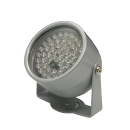ir light for cctv camera UK - 850nm 48 IR LED Infrared Illuminator Light IR Night Vision for CCTV Security Cameras Fill Lighting metal gray Dome Free shipping