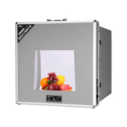 portable softbox lighting kit Canada - 47*47cm NanGuang NG-T4730 Folding LED Photo Photography Studio Video Lighting Tent Professional Portable LED Softbox Box Set 110V 220V