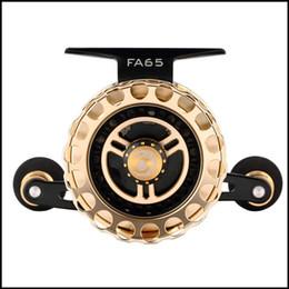 $enCountryForm.capitalKeyWord Canada - FA65 raft wheel All aluminum alloy Fly fishing wheel 6BB + 1RB high speed SUS bearings Tooth speed ratio 3.6: 1