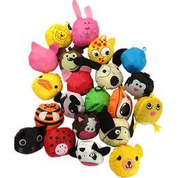 Discount dog rabbits - New Cute Reusable Useful Animal Bee Panda Dog Rabbit Foldable bags Eco Reusable Shopping Bags 18 Styles A0136.