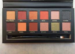 $enCountryForm.capitalKeyWord NZ - Makeup Eyeshadow Palette 12 Colors Eye Shadow Palette Make Up Tools DHL