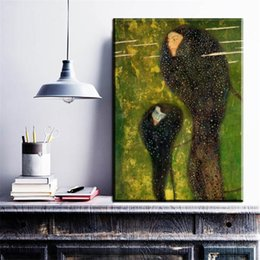 $enCountryForm.capitalKeyWord NZ - ZZ758 Gustav Klimt printed oil painting on canvas wall art prints picture for living room home decoration or hotel free shipping