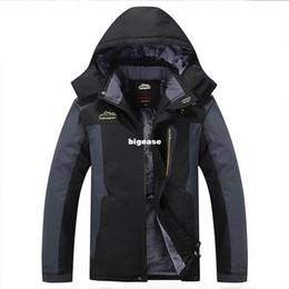 $enCountryForm.capitalKeyWord Canada - Wholesale- king Size 5XL,6XL,7XL,8XL 9XL warm Winter Jacket Men fleece thicken waterproof cotton down parka men jacket coats brand clothing