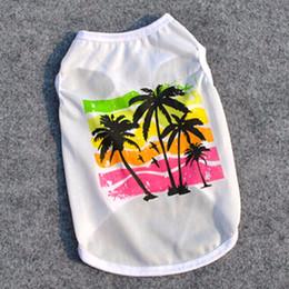 $enCountryForm.capitalKeyWord NZ - Pet Dog Clothes Print Pattern Pet T-Shirt Clothing Summer Breathable Cozy Pet Vest Clothes for Dogs