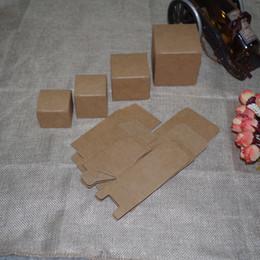 Packaging For Lipstick Australia - 2018 Tubetes 50pcs lot 6cmx6cmx5cm -12cm 8sizes Brown Color Kraft Paper Box Diy Lipstick Perfume Bottle Packaging for Valve Tube Package
