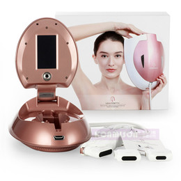 hifu portable home machine 2019 - 2017 Korea Portable Home Use American HIFU Anti-Aging Skin Regeneration Beauty Machine CE approval DHL Free Shipping che
