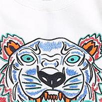 Barato Camisas Pretas Baratas Impressas-Cheap Tiger Head Print T Shirt para Mulheres Man Summer Short Sleeve Brand Tops Amantes Têxteis de malha Men Girls Black Color Tiger Design