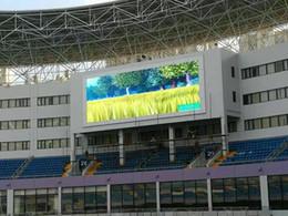 Venta al por mayor de La pantalla llevada al aire libre impermeable a todo color P10 / el panel llevado de la pantalla / llevó las pantallas de la pared para hacer publicidad / llevó la exhibición Moudle