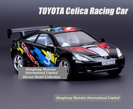 pull back race car 2019 - 1:36 Scale Alloy Diecast Metal Car Model For TOYOTA Celica GT-S Racing Car Collection Model Powerful Pull Back Toys Car