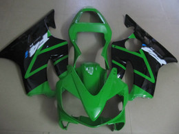 $enCountryForm.capitalKeyWord Australia - Injection molded hot sale fairing kit for Honda CBR600 F4I 01 02 03 green black fairings set CBR600F4I 2001-2003 OT19