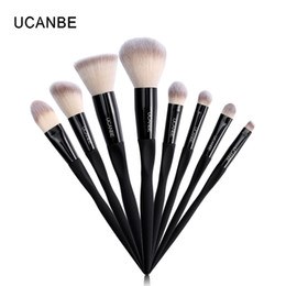 $enCountryForm.capitalKeyWord Australia - Ucanbe Brand 8pcs Eye Face Lip Makeup Brushes Set High Quality Eyeshadow Foundation Blush Contour Powder Make Up Tool Brush Kit