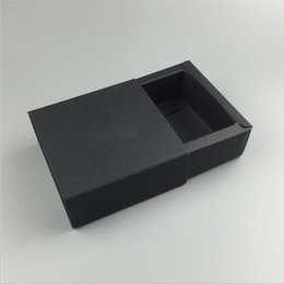$enCountryForm.capitalKeyWord Australia - New Paperboard Packaging Truck Paper Box Easy Assembly Black Kraft Handmade Gift Packing Box 6.5*6.5*3cm