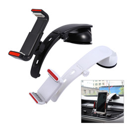 $enCountryForm.capitalKeyWord Canada - Freeshipping Car Dashboard Cell Phone Clip Holder Air Conditioning Outlet Windshield Dashboard Stand For Iphone Sansung Phone GPS