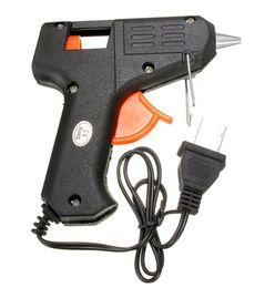 ElEctric hEating gun online shopping - 20W v v mm Glue Sticks Electric Heating Hot Melt Glue Gun Sticks Trigger Art Craft Repair Tool Black US Plug