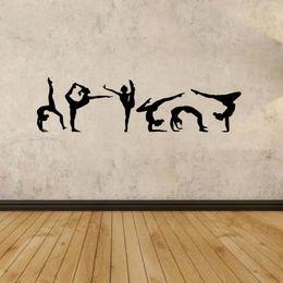 $enCountryForm.capitalKeyWord Canada - For Gymnastics Girls Set Of Six Wall Art Removable Vinyl Decal Stickers Decor Bedroom Sitting Room Diy