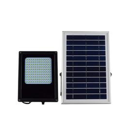 Wholesale Solar Powered Floodlights Canada - 8pcs 120LEDs SMD 3528 LED Floodlight 6V 6W Solar Panel Solar Power Outdoor Garden Street Light Lamp
