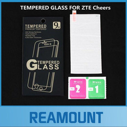 Wholesale temper class for sale - Group buy 200 Arc mm for ZTE Cheers tempered glass for ZTE Cheers screen protective film with high class packaging