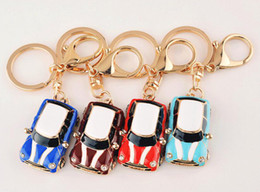 Cute MINI Beetle Car Key Chains - Retro Classic Cars Pendants Car Keychain  Keyring - Women Jewelry Accessories Bag Pendant 39bae29058