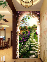 The Garden Painting In The Picture 3D Background Mural 3d Wallpaper 3d Wall  Papers For Tv Backdrop