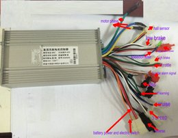 $enCountryForm.capitalKeyWord NZ - 36v48v60v64v 500w600w BLDC motor controller 12 mosfet universal for electric scooter bike MTB pedal bicycle EBS CRUISE 3SPEED