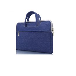 Chinese  Wholesale- Fashion quality new Slim laptop handbag computer bags notebook case cover man women business Briefcase travel bag free shipping manufacturers