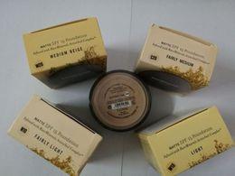 Chinese  UK version 5 colors makeup Minerals powder original MATTE Foundation makeup powder with retail box DHL shipping free. manufacturers