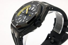 Mens swiss chronograph luxury watches online shopping - Luxury Swiss Brand Mens Limited Black Dial Offshore Quartz Chronograph Watch Stainless Steel Men Sport Oak Black Leather Dive Watches