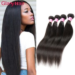 Chinese  Mink New Brazilian Hair Bundles Straight Human Hair Weave Extensions Cheap Unprocessed Virgin 4 Bundles of Brazilian Braiding Hair Wefts 1b manufacturers