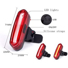 equipment bikes Canada - Bicycle taillights USB charging warning lights mountain bike ride equipment accessories outdoor sports night night light