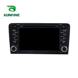 Discount dvd tv stereo - Octa Core 1024*600 Android 6.0 Car DVD GPS Navigation Multimedia Player Car Stereo for Audi A3 2003-2013 S3 2003-2011 Ra
