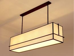 Free Shipping Chinese Style Wooden Pendant Lights Restaurant Study Hotel Engineering Creative New Fabric LLFA