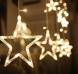 2017 christmas lights store decoration 3m led christmas lights star fairy icicle curtain flash light party - Christmas Light Store